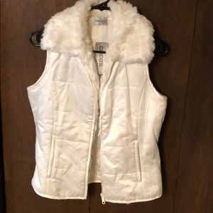 NWT!  Chico's Winter white vest.